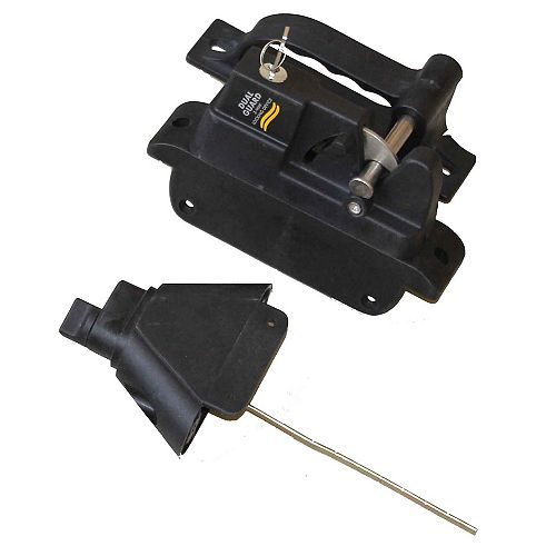 Onward Polymer Gate Locking Latch - 2 Sided
