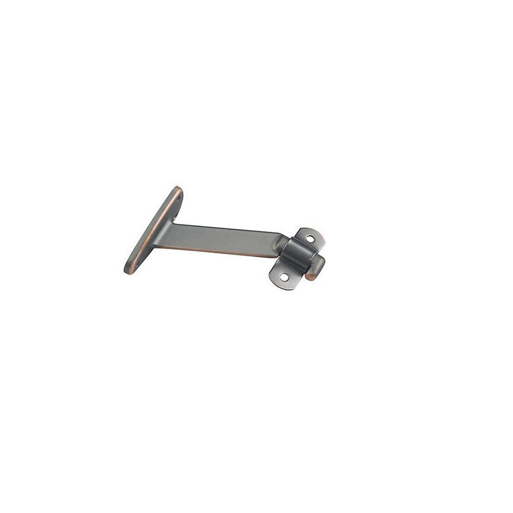 Onward 4-1/16 inch Extended Arm Heavy-Duty Handrail Bracket, Oil Rubbed Bronze