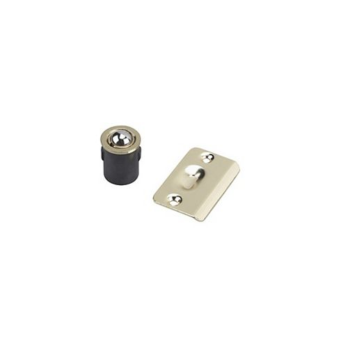 Adjustable Drive-in Ball Catch, Brass