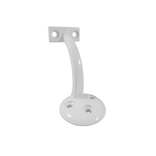 Support pour main courante 3-5/32 po, Blanc