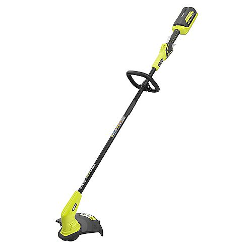 40V Lithium-Ion Cordless String Trimmer - 1.5 Ah Battery and Charger Included
