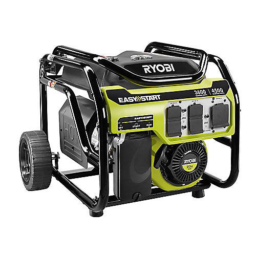 3,600-Watt 212cc Gasoline Powered Portable Generator