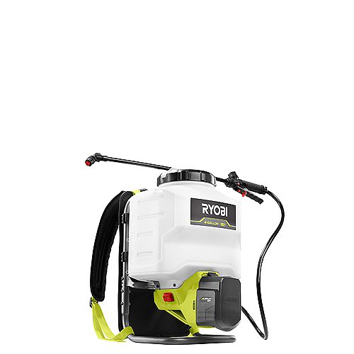 ONE+ 18V Lithium-Ion Cordless Backpack Chemical Sprayer - 2.0Ah Battery and Charger Included