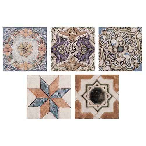 Avila Arenal Taco 2-3/4-inch x 2-3/4-inch Ceramic Floor and Wall Trim Tile (1.22 lft / case)