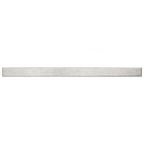 Alloy Stick 3/8-inch x 5-3/4-inch Stainless Steel Over Porcelain Wall Trim Tile(4.5 Ln. ft. / case)