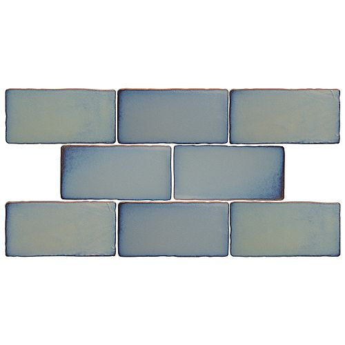 Merola Tile Antic Special Griggio 3-inch x 6-inch Ceramic Wall Tile (4 sq. ft. / case)