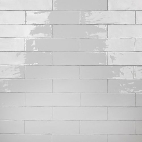 Chester Bianco 3-inch x 12-inch Ceramic Wall Tile (5.5 sq. ft. / case)