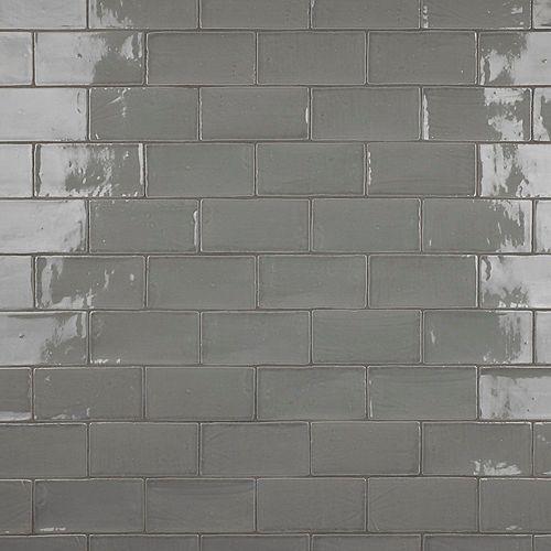 Carreau mural en céramique 3 po x 6 po Chester, gris (6,02 pi2/bte)