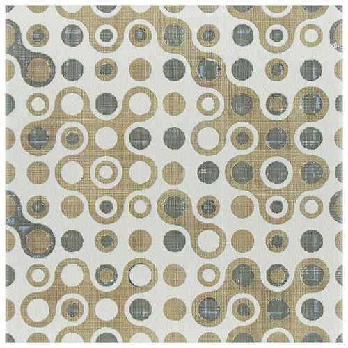 Merola Tile Boheme Cool 7-3/4-inch x 7-3/4-inch Ceramic Floor and Wall Tile (11.11 sq. ft. / case)