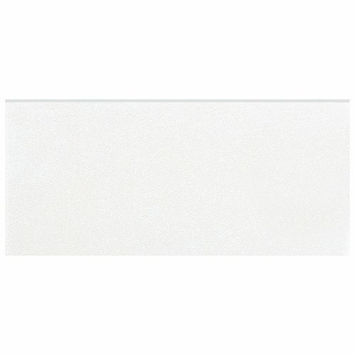 Twenties White 3-1/2-inch x 7-3/4-inch Ceramic Bullnose Floor and Wall Trim Tile (3.33 Ln. ft. / case)