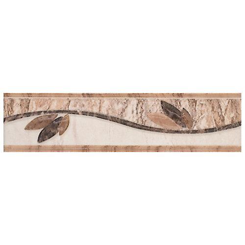 Ferraras Listello Base 2-inch x 8-inch Ceramic Wall Trim Tile (5.5 Ln. ft. / case)