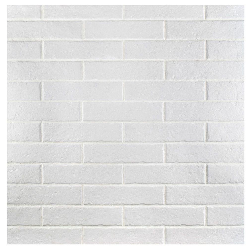 Merola Tile Brooklin Brick White 2 3 8