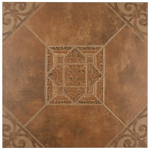 Manises Teja 17-5/8-inch x 17-5/8-inch Ceramic Floor and Wall Tile (15.53 sq. ft. / case)