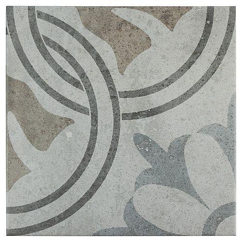 Llanes Perla Valencia 13-1/8-inch x 13-1/8-inch Ceramic Floor and Wall Tile (11.18 sq. ft. / case)