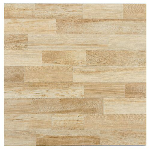 Alpino Haya 17-3/4-inch x 17-3/4-inch Ceramic Floor and Wall Tile (18 sq. ft. / case)