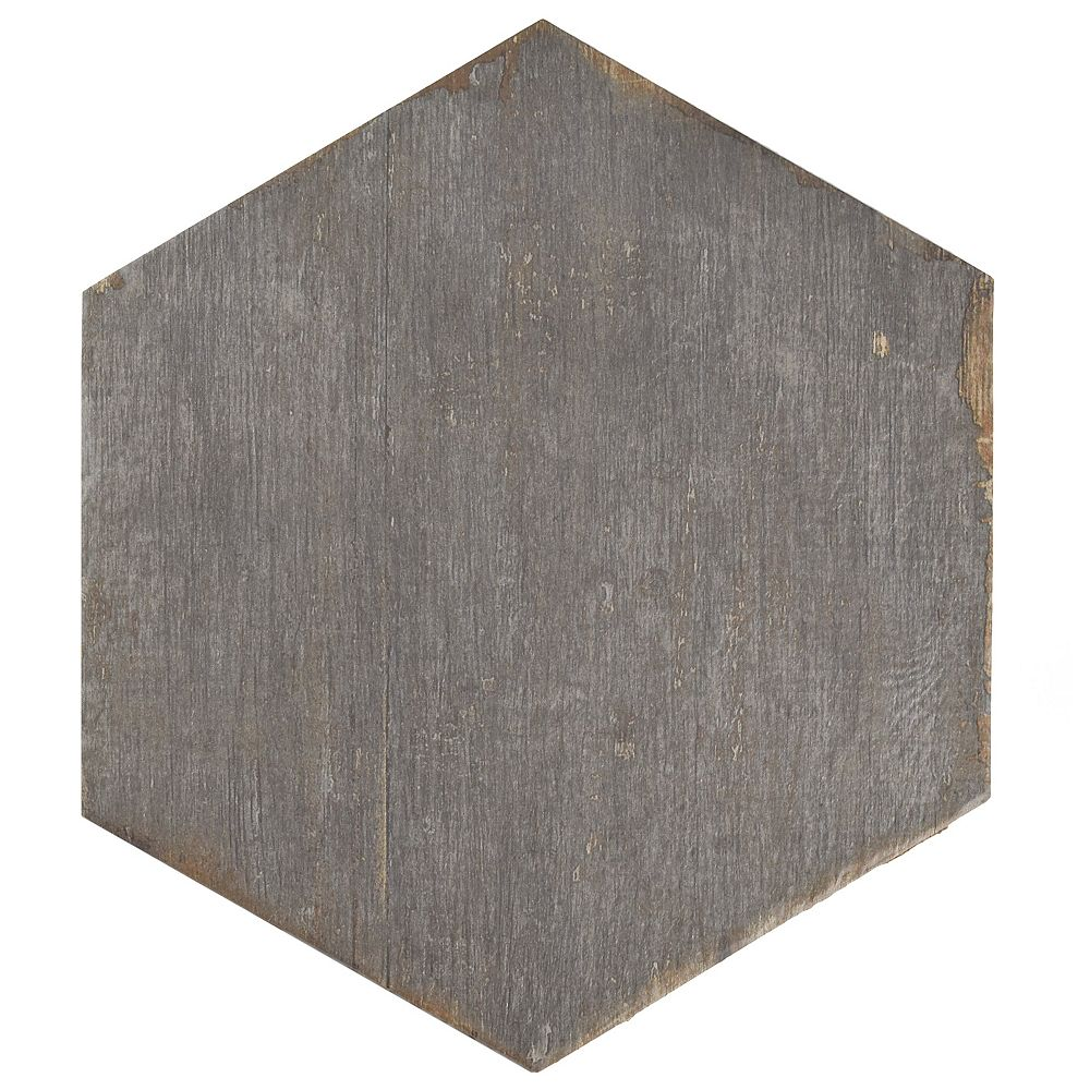 Merola Tile Retro Hex Cendra 14 1 8