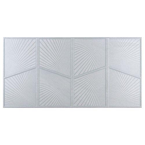 Merola Tile Mural Austral Blanco 12-1/2-inch x 24-1/2-inch Porcelain Wall Tile (10.96 sq. ft. / case)