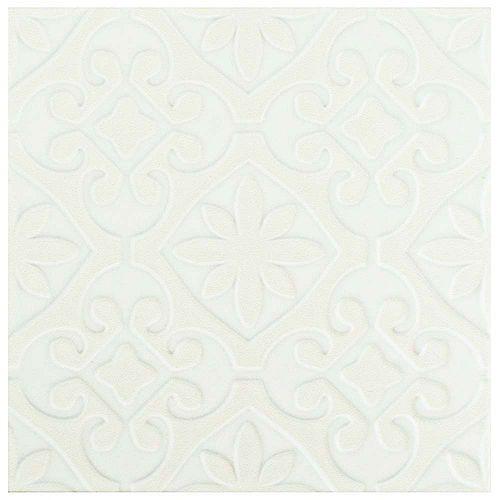 Triplex Valverde White 7-3/4-inch x 7-3/4-inch Ceramic Wall Tile (11.11 sq. ft. / case)