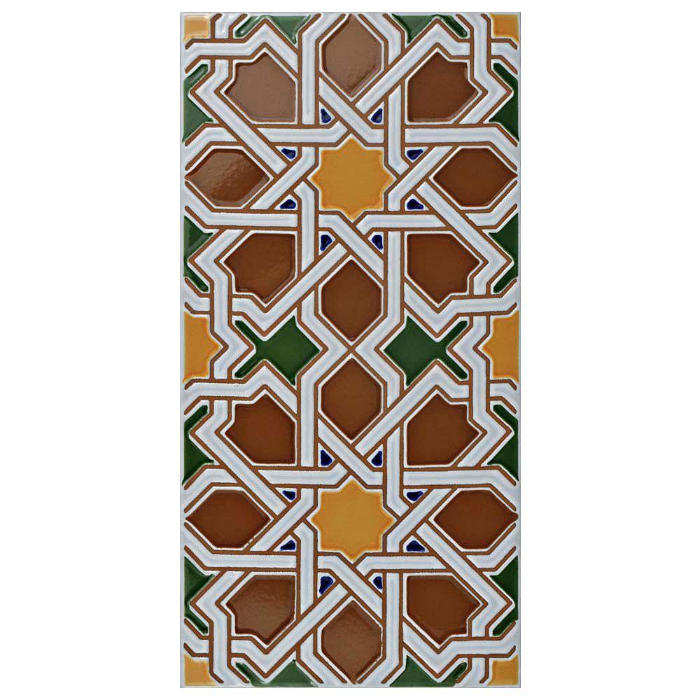 merola tile artesanal mairena brown 512inch x 11inch