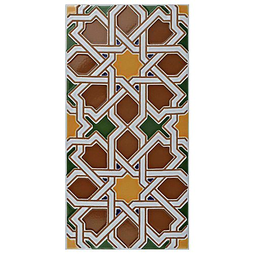 Merola Tile Artesanal Mairena Brown 5-1/2-inch x 11-inch Ceramic Wall Tile (11.23 sq. ft. / case)