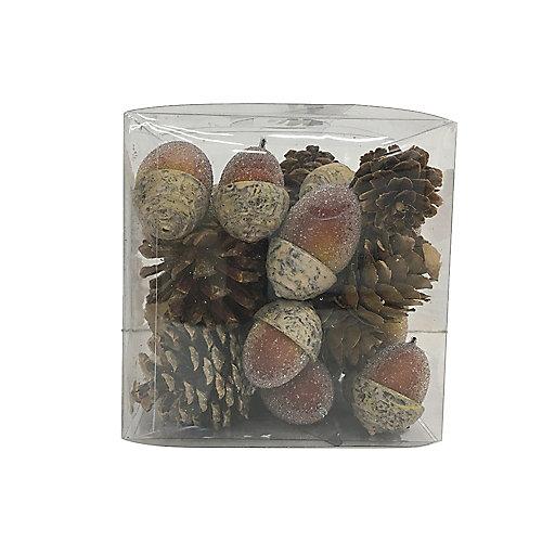 Glands de remplissage décoratif de vase