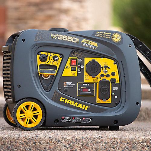 Génératrice a onduleur portatif au démarrage par recul de 3650/3300 watts certifié CARB et cETL