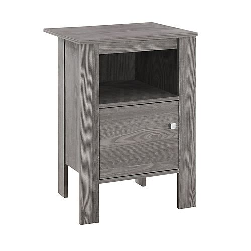 Table D'Appoint - Table De Chevet Gris
