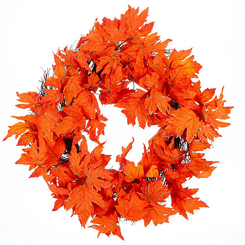 28 inch Maple Leaf Wreath