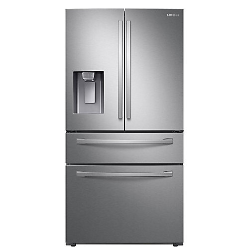 36-inch W 28 cu. ft. French Door Refrigerator in Fingerprint Resistant Stainless Steel - ENERGY STAR®