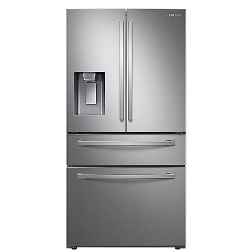 36-inch W 28 cu. ft. French Door Refrigerator in Fingerprint Resistant Stainless Steel, Standard Depth - ENERGY STAR®