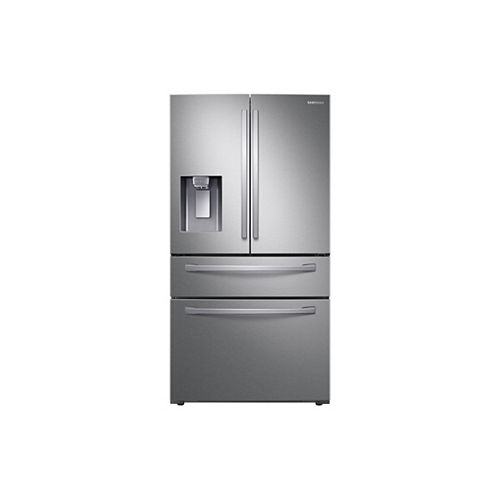 36-inch W 23 cu.ft. French Door Refrigerator in Stainless Steel, Counter Depth - ENERGY STAR®