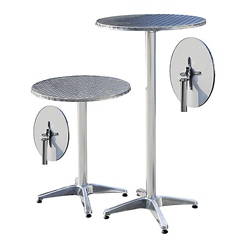 Table de bar adjustable