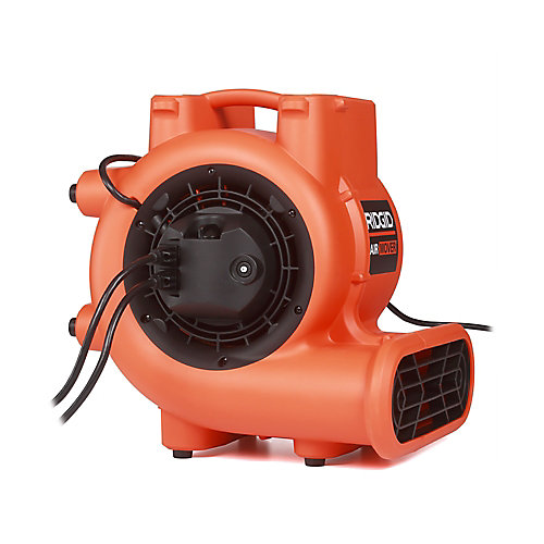 Air Mover 1625 CFM Floor Dryer & Blower Fan with Power Outlets for Daisy Chain