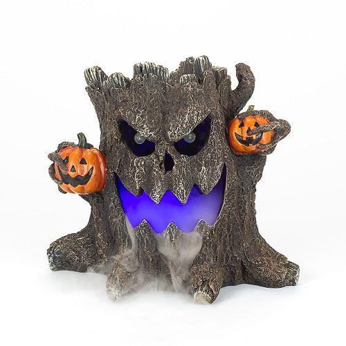 10.5 inch LED Haunted Stump