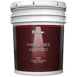 Interior Matte Paint & Primer - Ultra Pure White, 18.9L