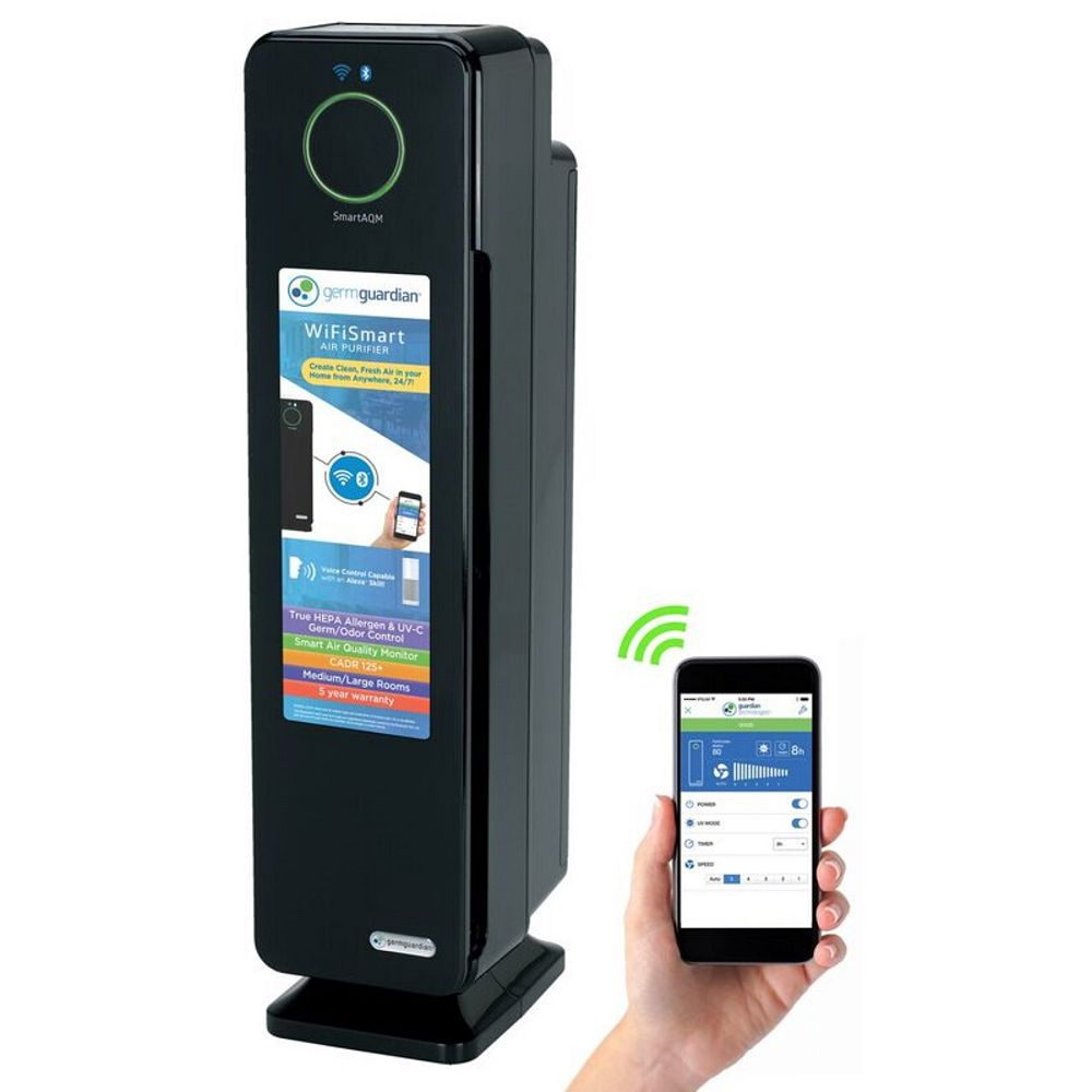 GermGuardian Purificateur d'air Smart 4 en 1 Wi-Fi 28