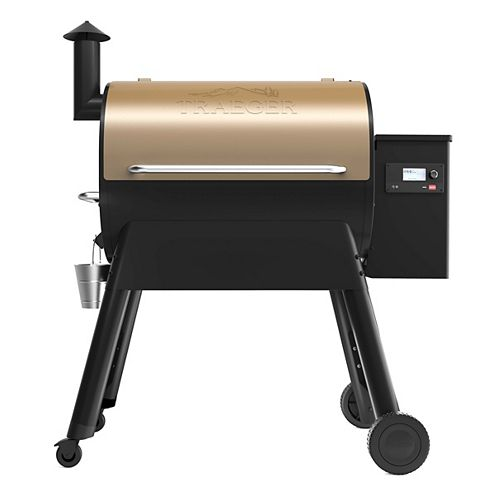 Pro 780 Wood Pellet BBQ Grill with WiFIRE Wi-Fi Control in Bronze