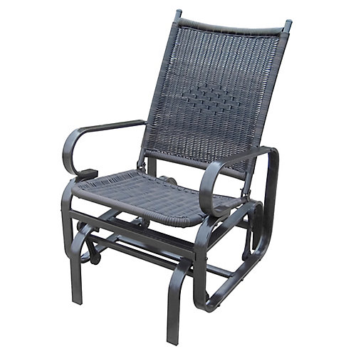 Wicker Glider Chair