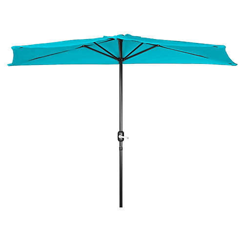 Half Umbrella Blue