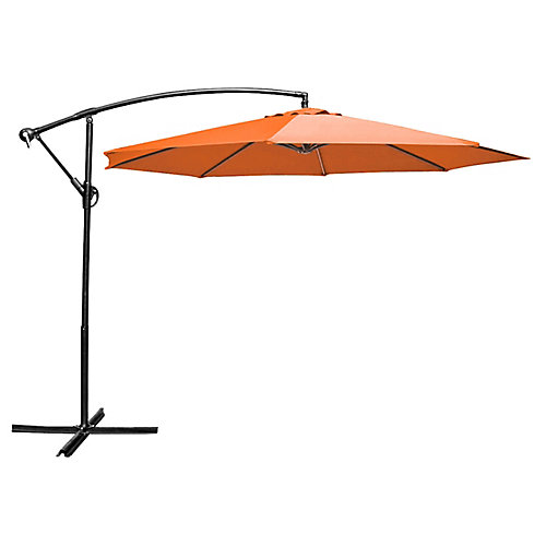 10 ft. Cantilever Umbrella Orange
