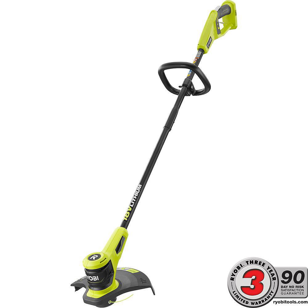 RYOBI ONE+ 18V Lithium-Ion Electric Cordless String Trimmer (Tool Only)