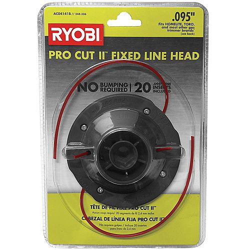 Universal Pro Cut ll 0.095-inch Fixed Line String Head