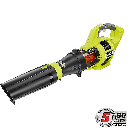 110 MPH 480 CFM Variable-Speed Turbo 40V Lithium-ion Cordless Jet Fan Leaf Blower (Tool Only)
