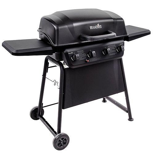 Classic Series 4-Burner Gas BBQ in Black