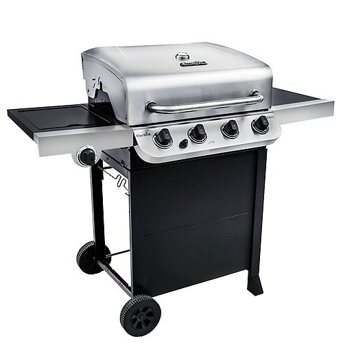 Performance 4-Burner Gas Grill in Black