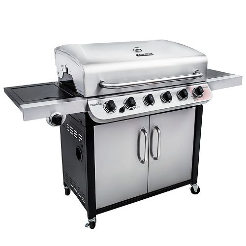 Performance Series 6-Burner Cabinet-Style Gas BBQ