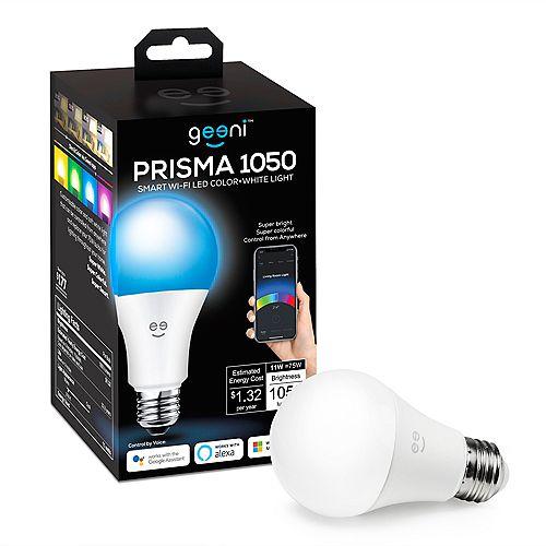 PRISMA 1050 Colour + LED Smart Wi-Fi  Light Bulb