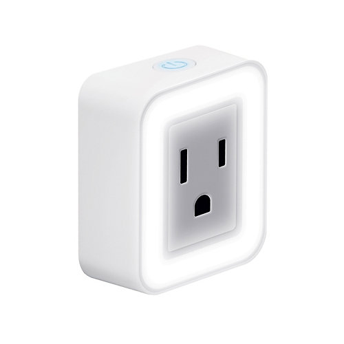 SWITCH GLO Smart Wi-Fi Plug with Night Light