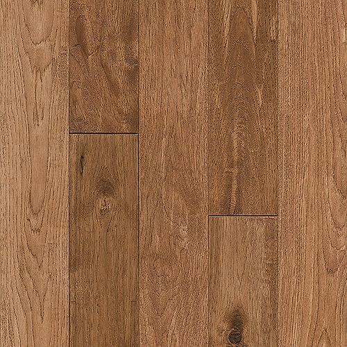 Hickory Rich Doeskin 3/4-inch T x 5-inch W x Varying L Solid Hardwood Flooring (23.5 sq. ft. / case)