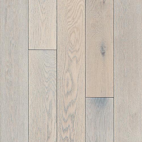 Plancher, bois massif, 3/4 po x 5 po x longueurs variées, Chêne Endless Summer, 23,5 pi2/boîte